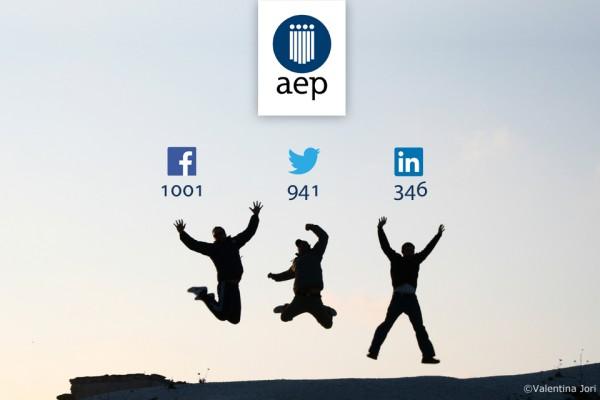 Redes sociales de la AEP