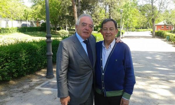 El Presidente de la AEP mantuvo una reunión de trabajo con el Director de Protocolo de Presidencia del Gobierno, el Coronel Andrés Costilludo