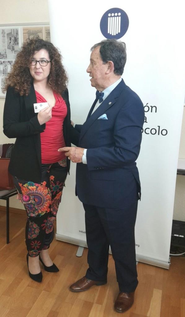 Entrega de carnets socios AEP - Región de Murcia