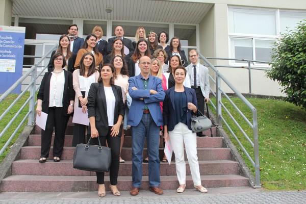 Grupo curso Protocolo, Comunicación, Imagen Corporativa UDC