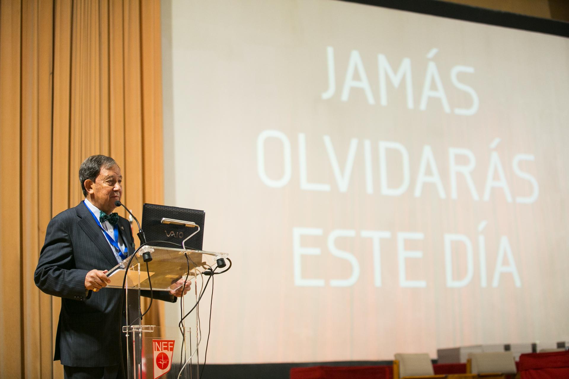 Intervención de Juan Ángel Gato. Presidente AEP.