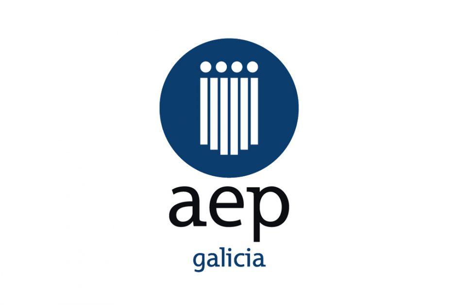 Logotipo AEP Galicia