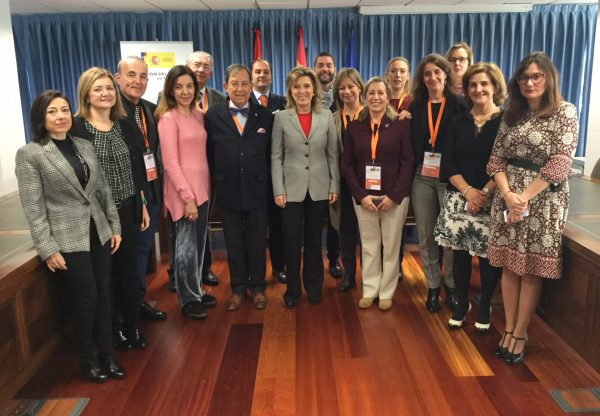 socios AEP en Congreso Valladolid