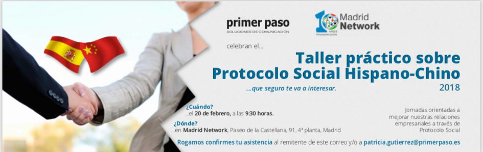 protocolo social hispano chino