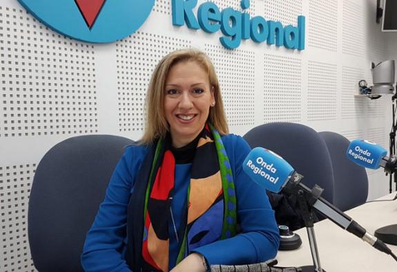 Ana María Fernández en Onda Regional
