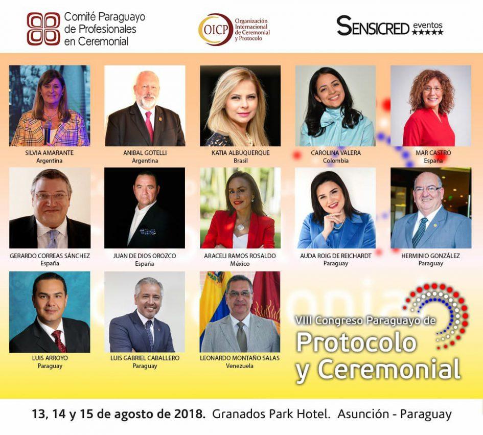 Cogreso de Protocolo y ceremonial en Paraguay