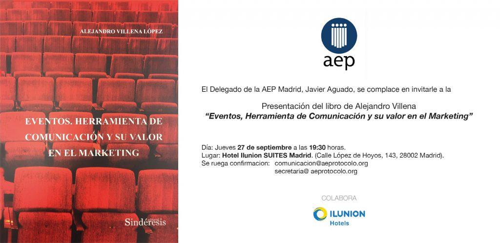 Presentación del libro de Alejandro Villena