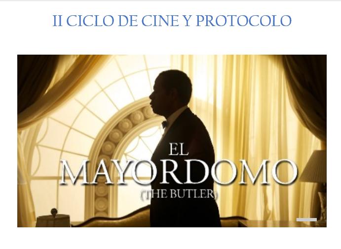 II Ciclo de cine y protocolo