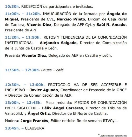 IV Jornada de Comunicación y Protocolo